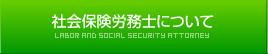 社会保険労務士について